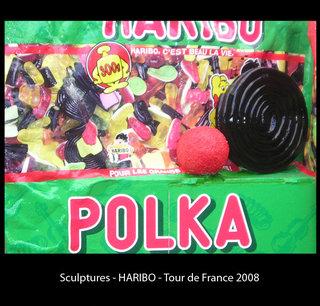 """Sculpture Haribo """"Tour de France"""""""