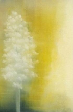 Jaune, huile sur toile, 146x96cm, 2018