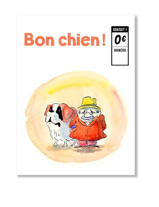 """Couverture magazine """"Bon chien !"""""""