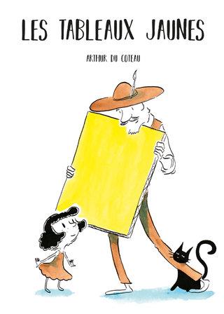 """Couverture """"les tableaux jaunes"""""""