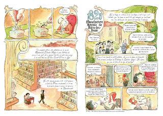 """Pages 1 et 2 du mensuel BD """"Les rues de Lyon"""" n°70"""