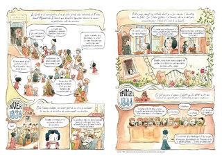 """Pages 3 et 4 du mensuel BD """"Les rues de Lyon"""" n°70"""