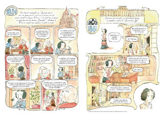 """Pages 7 et 8 du mensuel BD """"Les rues de Lyon"""" n°70"""