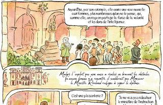 """Zoom page 9 du mensuel BD """"Les rues de Lyon"""" n°70"""