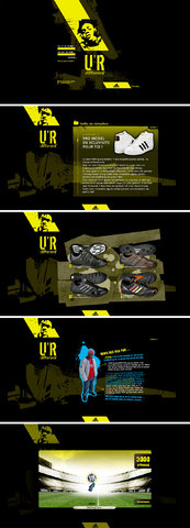 Site pour Adidas Le Clan