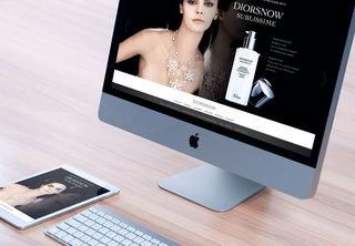 Site Dior Snow