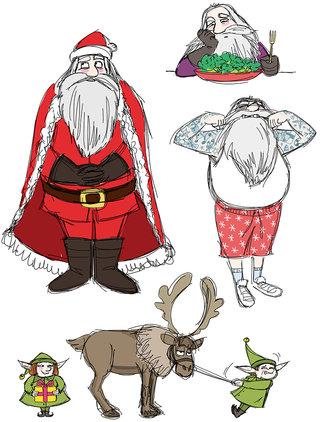 Père-Noël - travail perso
