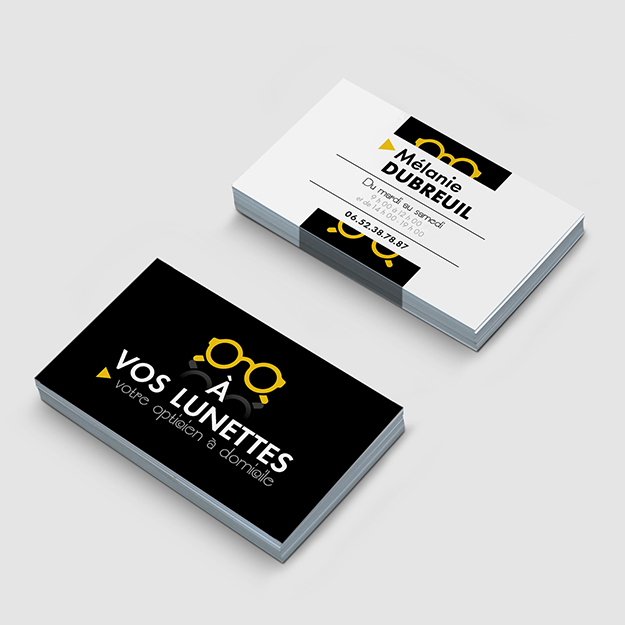 A Vos Lunettes Conception Logo Carte De Visite