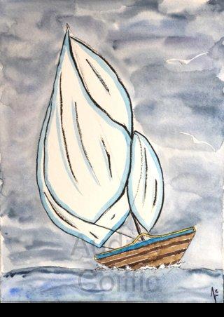 Aquarelle_Boat