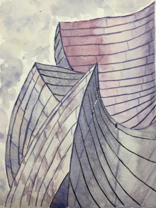 Aquarelle_Gehry