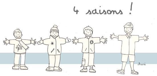Aur lie nass portfolio - Dessin 4 saisons ...