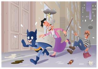 La première mission de Batman 2015