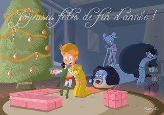 Carte Joyeux Noël 2015