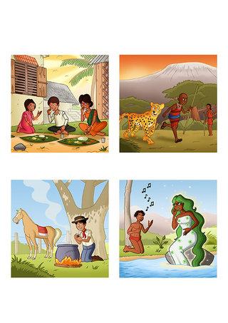 Propositions d'illustrations pour le concours des Editions Limonade 2012
