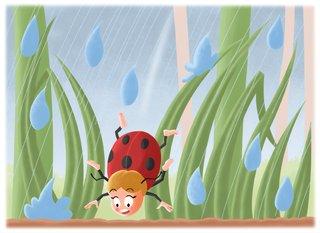 Illustration (non retenue) pour un projet de livre jeunesse 2015