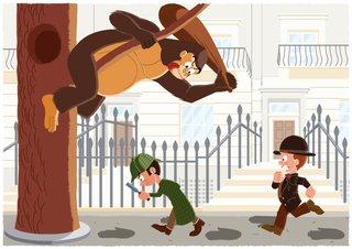 Le jeune Sherlock contre Gorilla Jack 2015