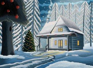 Editions Les Cartes Pôle Nord 2013 : carte de Noël