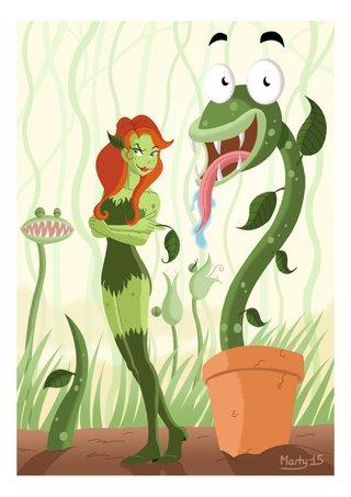 Poison Ivy et ses amies 2015