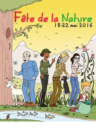 Proposition affiche Fête Nature 2016 (non retenue)