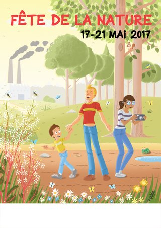 Proposition affiche Fête Nature 2017 (non retenue)