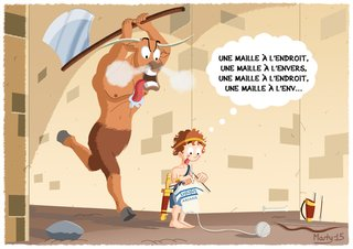 Thésée, le Minotaure et le fil d'Ariane 2015