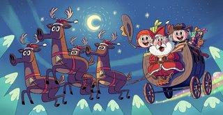 La Diligence de Noel