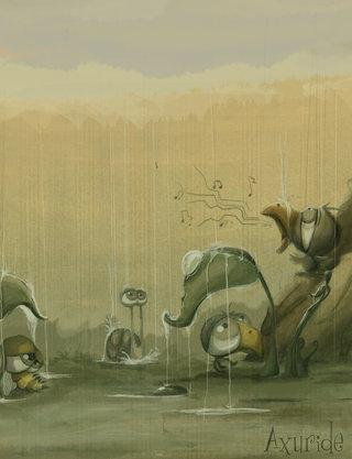 Le monde des gros noeils