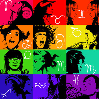 horoscope vectoriel