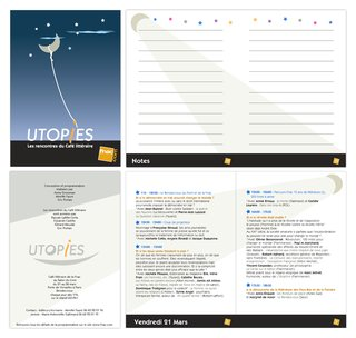 Brochure Utopies