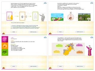 Conception graphique de parcours pédagogiques interactifs