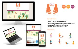 Identité visuelle, responsive webdesign, illustration.