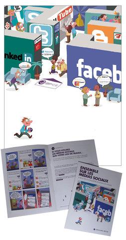 Brochure Ensemble sur les médias sociaux