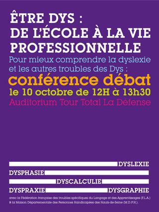 Conférence sur les dys