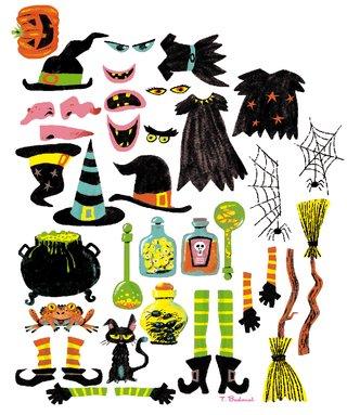 Autocollants Halloween