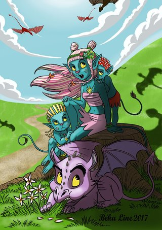 dragon et avatars