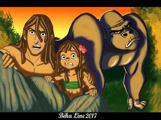 ma version de Tarzan