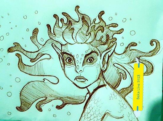 creature de la mer