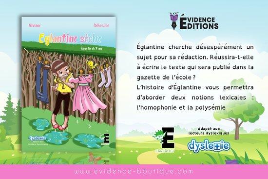 """Eglantine sèche"" de ""Evidence Editions"""