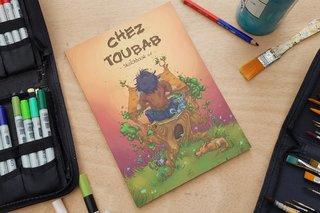 Sketchbook 01 - chez Toubab