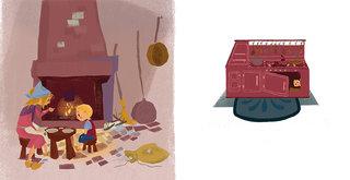 Jack et le haricot magique ; éditions les 2 Coqs d'or