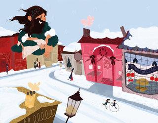 Le conte de Noël/A Christmas Carol ; éditions de l'Oxalide