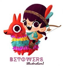 Ultra-book de betowers-illustrations Portfolio :Toys and activity books