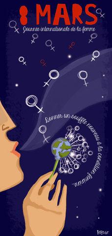 Affiche 8 Mars