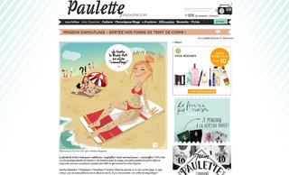 Webzine Paulette
