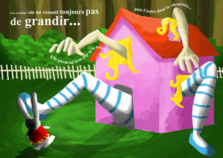 Illustration et mise en page Alice / Illustration and layout