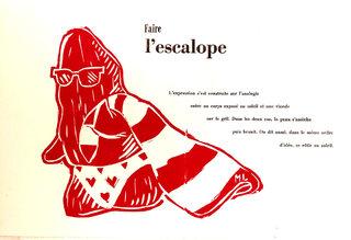 Impression Escalope / Printing