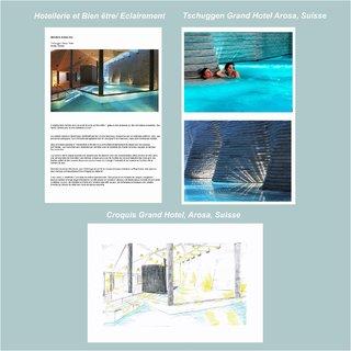 Analyse Eclairage Tschuggen Grand Hotel Arosa, Suisse