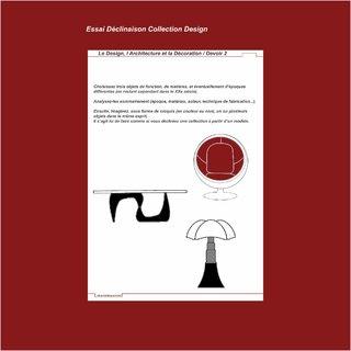 Essai Déclinaison Collection Design