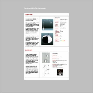 Lampadaire/Suspension