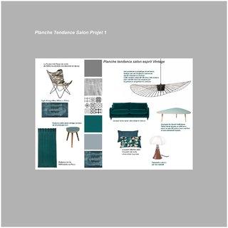 Planche tendance salon Projet 1